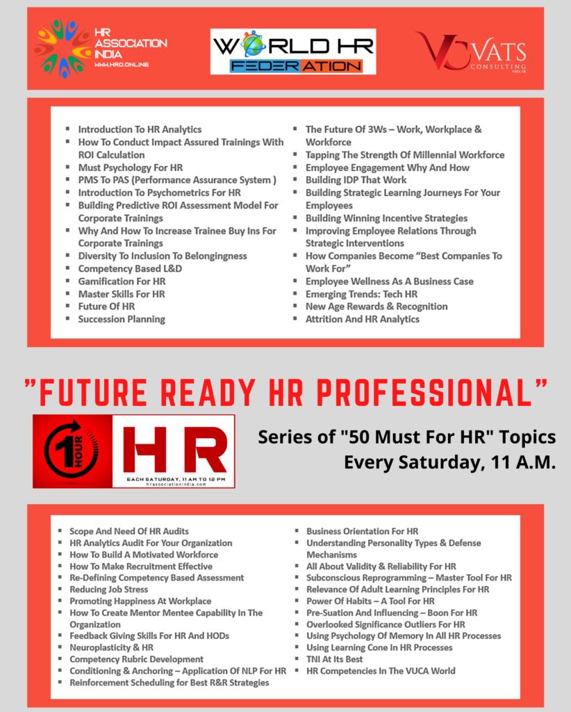 Future Ready HR Professional Initiative